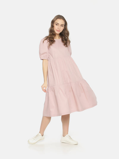 Layered Dress Pastel Pink - Studio Y
