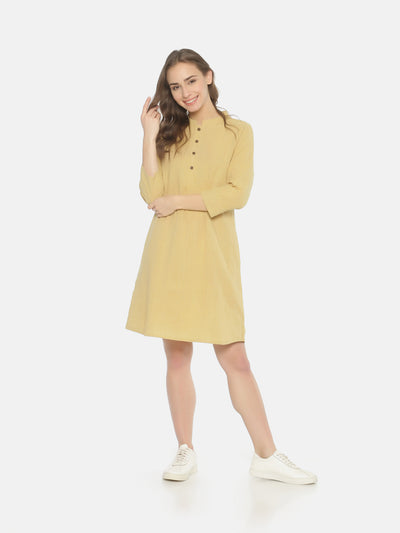Shirt Pleat Dress - Studio Y