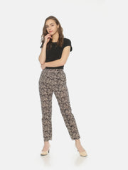 Black Kalamkari Pants - Studio Y