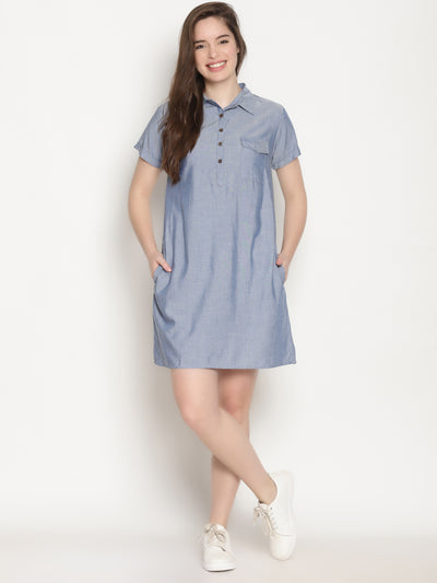 Semi Shirt Dress - Studio Y