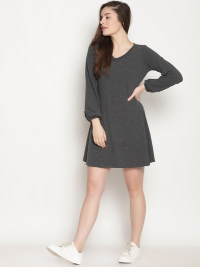 Skater Dress (Grey)- ***sold out - Studio Y