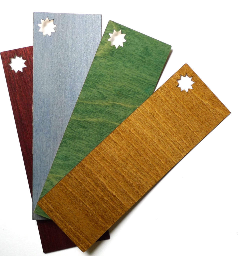 Real Birch Engraved Bookmarks III