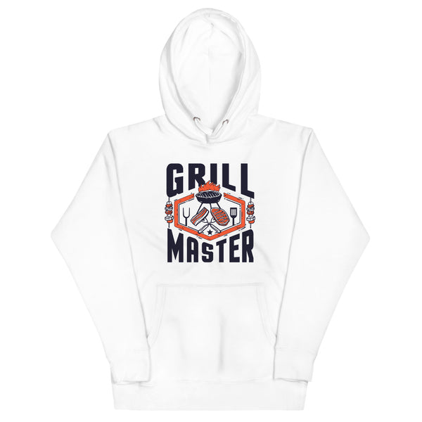 Grill Master Hoodie - White - Relatable Wear