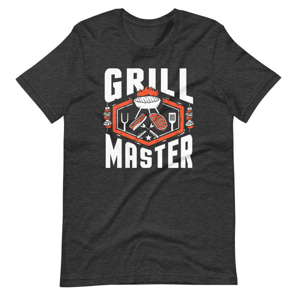 Grill Master T-Shirt - Dark Grey Heather - Relatable Wear