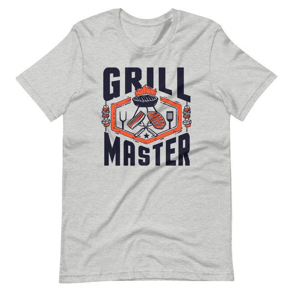 Grill Master T-Shirt - Light Grey Heather - Relatable Wear
