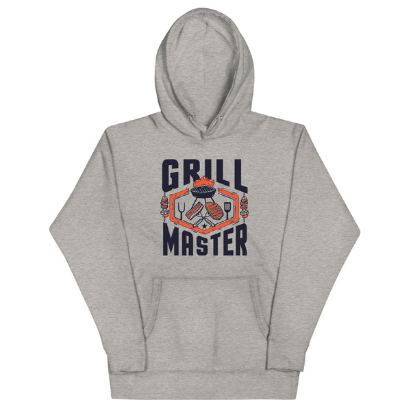 Grill Master Hoodie - Grey - Relatable Wear