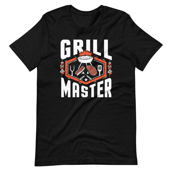 Grill Master T-Shirt - Black Heather - Relatable Wear