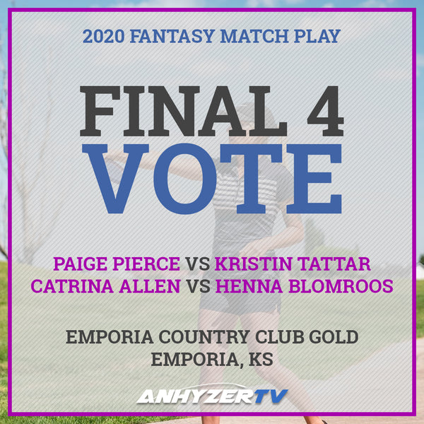 2020 Fantasy Match Play - FPO Semifinals