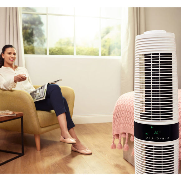 Dimplex Xpelair Skyscraper 360 Degree Rotating Tower Fan, XPSS - YaamiFashion