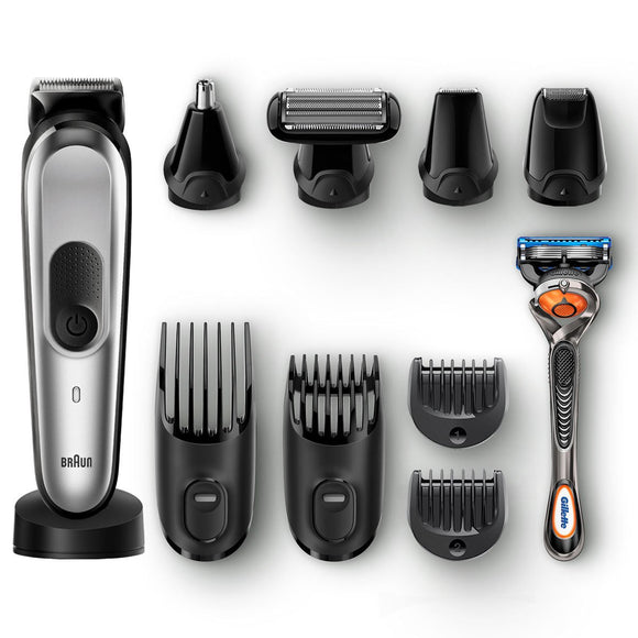 Braun 10 in 1 Beard Trimmer & Hair Clipper - YaamiFashion