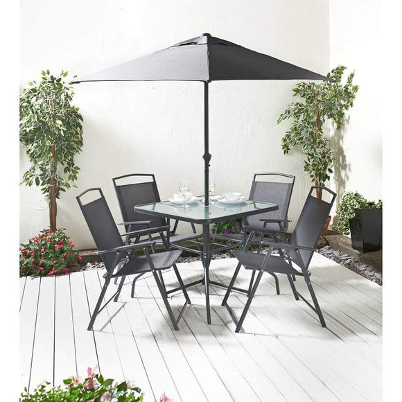 Seattle Premium Patio Set 6pc - YaamiFashion