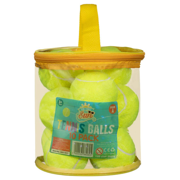 Tennis Balls 10pk - YaamiFashion