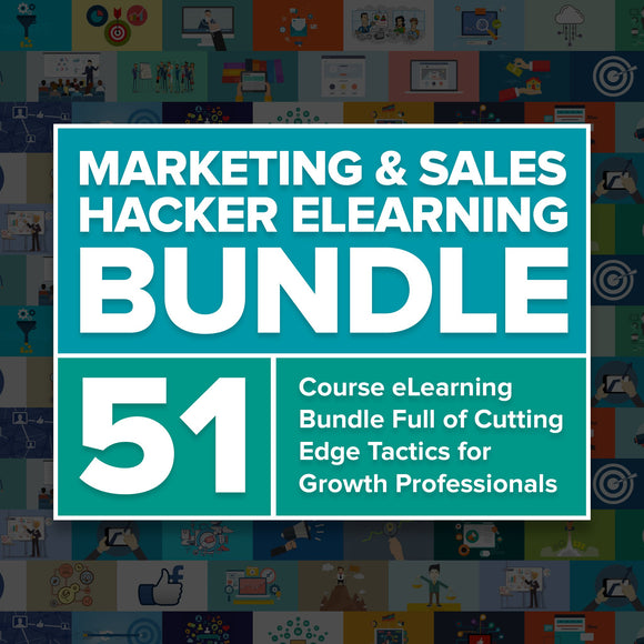 Marketing and Sales Hacker eLearning Bundle - YaamiFashion