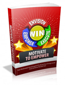 Get Free Motivate to Empower Ebook - YaamiFashion
