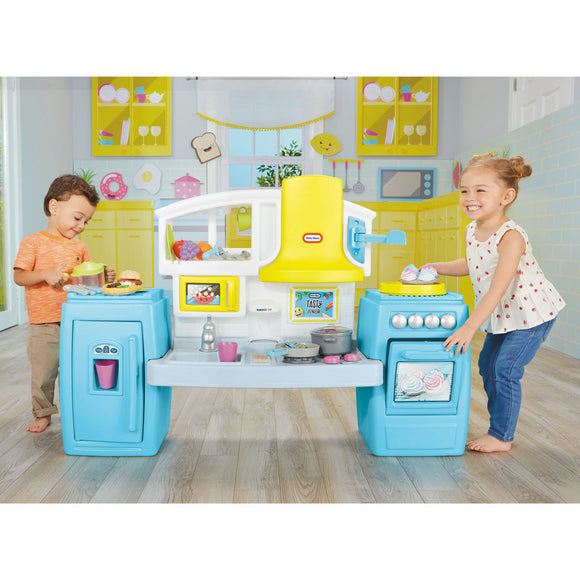 Little Tikes Tasty Junior Bake 'n Share Kitchen (2+ Years) - YaamiFashion