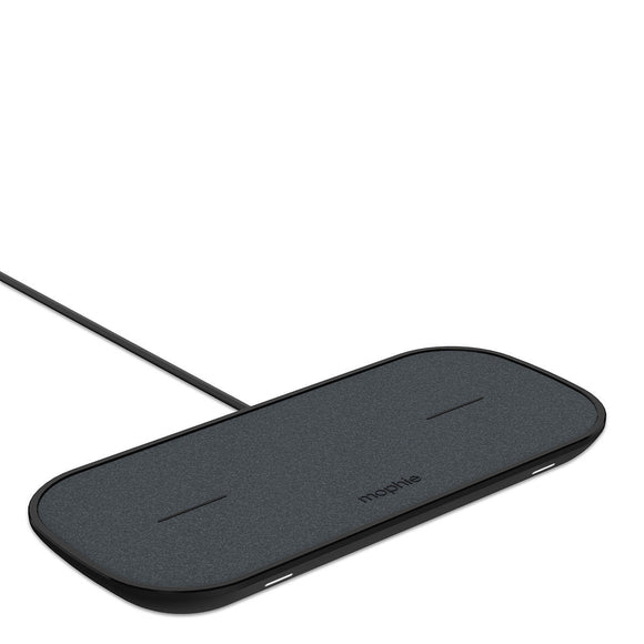 Mophie Dual Wireless Charging Pad in Black - YaamiFashion