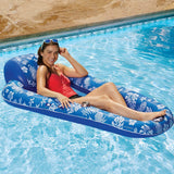 "Aqua Luxury 5ft 8"" 176.8cm Inflatable Pool Lounger - YaamiFashion"