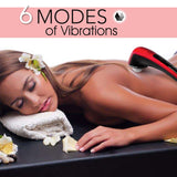 Electric Handheld Massager Percussion Body Machine 6 Speed 4 Head - YaamiFashion