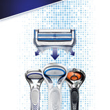 Gillette SkinGuard Sensitive Razor, 10 Blades + Razor - YaamiFashion