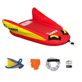 Jobe Hydra Inflatable 1 Person Towable with Pump, Seal and Towable Rope - YaamiFashion