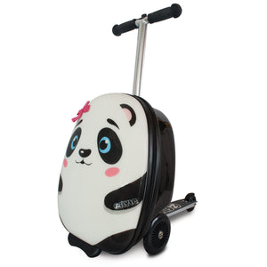 Zinc Flyte Midi Scooter Case, Polly the Panda (4-8 Years) - YaamiFashion