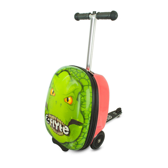 Zinc Flyte Midi Scooter Case, Darwin the Dinosaur (4-8 Years) - YaamiFashion