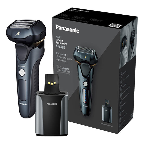 Panasonic ES-LV97 Men's 5-Blade Wet & Dry Electric Shaver with Cleaning & Charging Stand - YaamiFashion