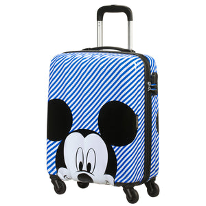 American Tourister Hypertwist Disney Mickey Mouse Hardside Spinner Cabin Case - YaamiFashion