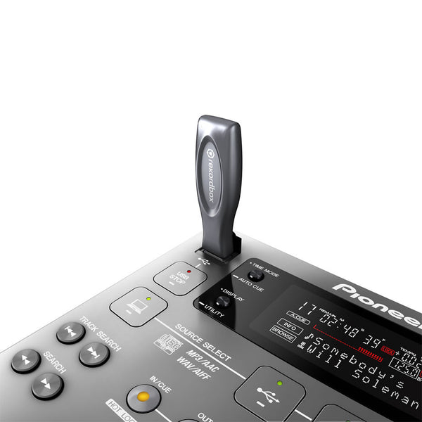 CDJ-350-S   -   Digital Multimedia Deck with Rekordbox support (Silver)