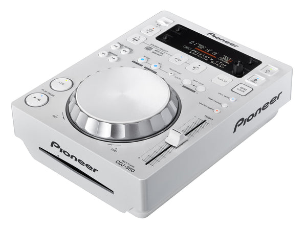 CDJ-350-W   -   Digital Multimedia Deck with Rekordbox support (White)