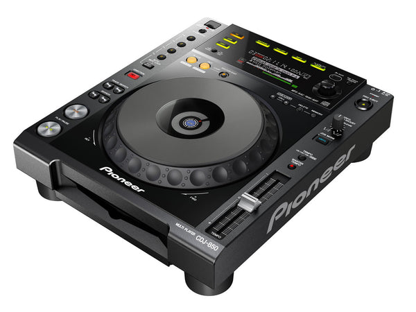 CDJ-850-K   -   Digital Deck with Full Scratch Jog Wheel and rekordbox Support