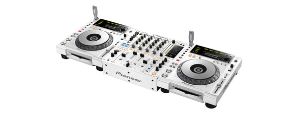 CDJ-850-W   -   Digital Deck with Full Scratch Jog Wheel and rekordbox Support (White)