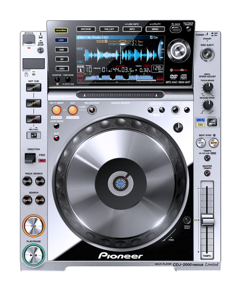 2000NXS-M-PACK   -   Pro-Grade, 2 Digital DJ Decks, Mixer, Effector with Stand (Limited Edition / Platinum)