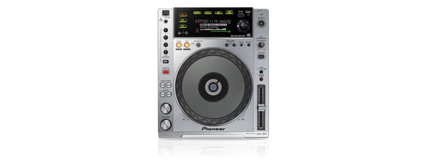CDJ-850   -   Digital Deck with Full Scratch Jog Wheel and rekordbox Support