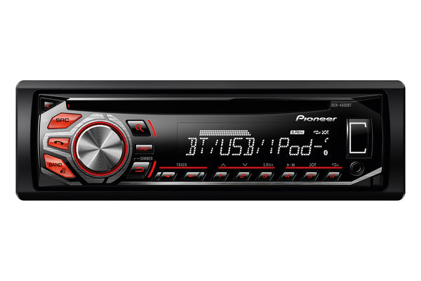 DEH-4600BT   -   Stereo, CD, USB, iPhone, Bluetooth, 1 Pre-out,