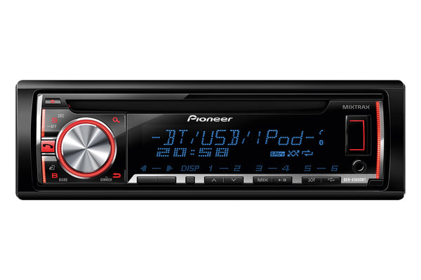 DEH-X5600BT   -   Stereo, CD, USB, iPhone, Bluetooth, Multi-Colour Display, MIXTRAX, 2 Pre-outs,