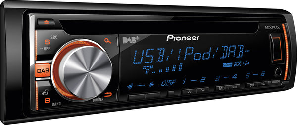 DEH-X6600DAB   -   Stereo, CD, USB, iPhone, Multi-Colour Display, MIXTRAX, DAB+, 2 Pre-outs