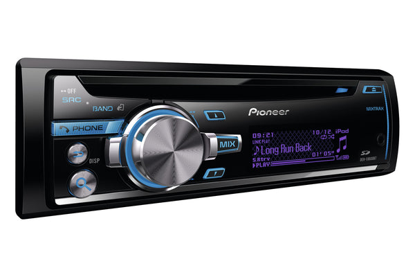 DEH-X8600BT   -   Stereo, CD, USB, iPhone, Multi-Colour Display, MIXTRAX, SD, 3 Pre-outs, Bluetooth, High Voltage Output 4V,