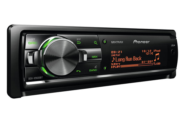 DEH-X9600BT   -   Stereo, CD, USB, iPhone, Multi-Colour Display, MIXTRAX, SD, 3 Pre-outs, Bluetooth, High Voltage Output 4V