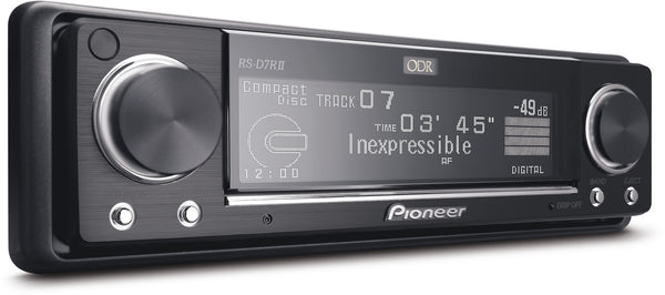 RS-D7RII   -   Optical Digital Reference System Control CD Tuner