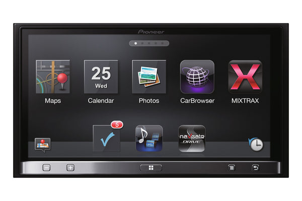 SPH-DA110   -   AppRadio, 7-Inch, GPS, Bluetooth, Android, iPhone 5, MirrorLink Compatibility.