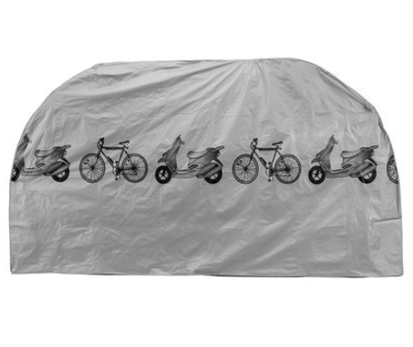 Waterproof Bicycle Cover (Gray)