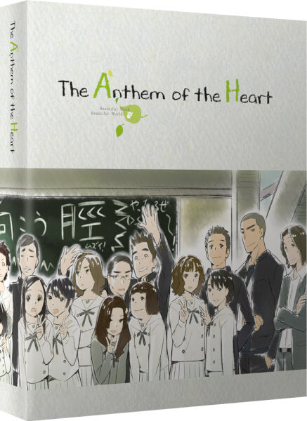*Zavvi Exclusive Design* Anthem of the Heart - Ltd Collector's Ed. Blu-ray+DVD