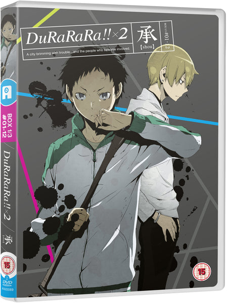 Durarara!! x2 (Part 1: Shou) DVD