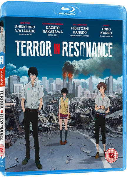 Terror In Resonance - Blu-ray