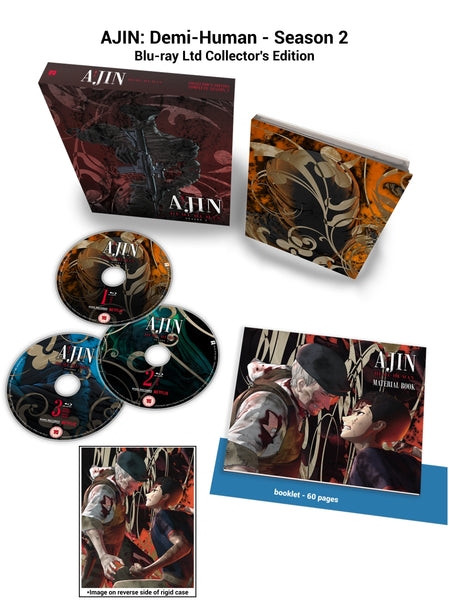 AJIN: Season 2 - Blu-ray Collector's Edition