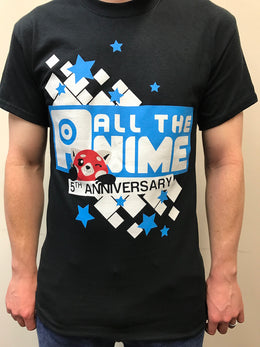 All the Anime T-shirt - 5th Anniversary