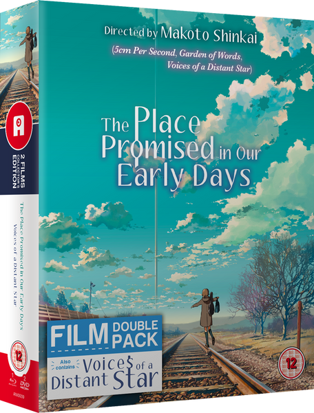 Makoto Shinkai 'The Place Promised In Our Early Days' + 'Voices Of A Distant Star' - Blu-ray/DVD Ltd Collector's Edition