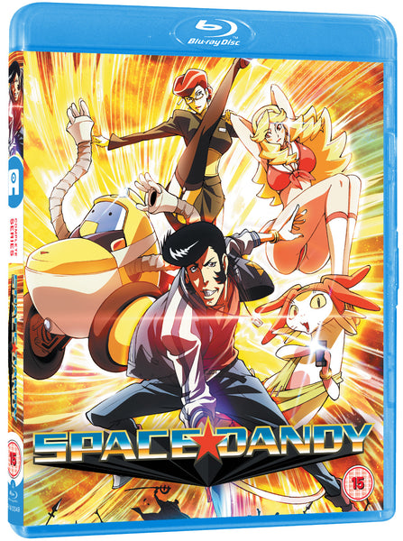 Space Dandy series 1 & 2 Blu-ray standard edition