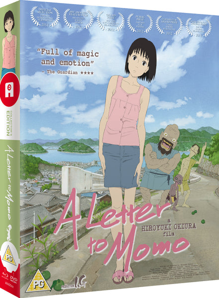 A Letter to Momo - Blu-ray/DVD Ltd. Collector's Edition
